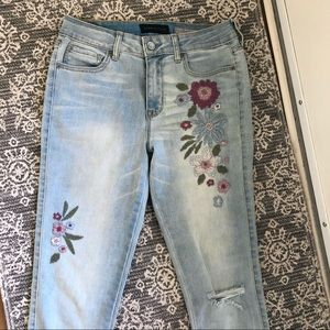 Beautiful Embroidered Jeans